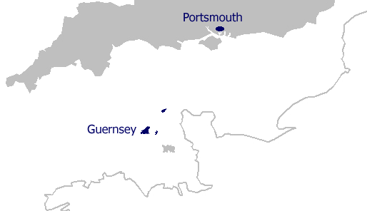 Guernsey England Map.Guernsey Gee Offshore
