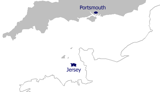 jersey is the largest of the channel islands situated in the english channel 14 miles off the west coast of normandy jersey is a british crown